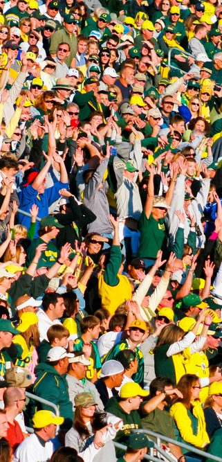 Autzen Stadium Crowd